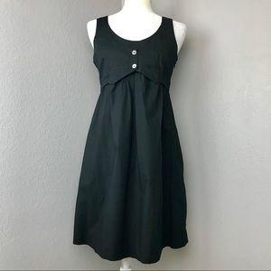 Anthropologie Maeve Black Vest Dress
